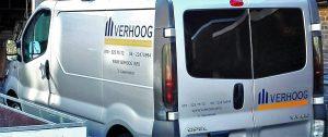 Verhoog-bus